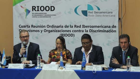 Panel de la cuarta reunión de la Riood