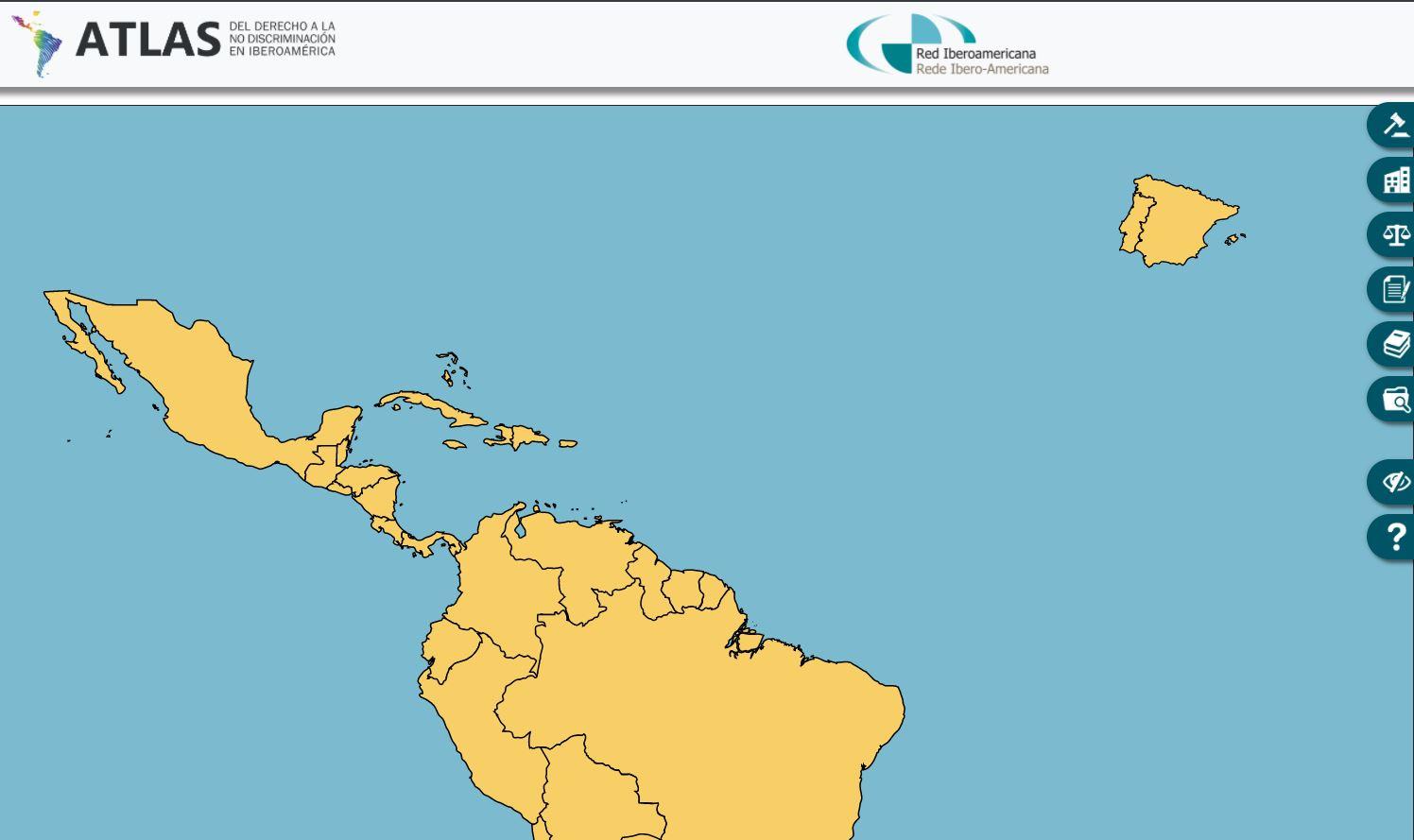 Atlas del derecho a la no Discriminación en Iberoamérica